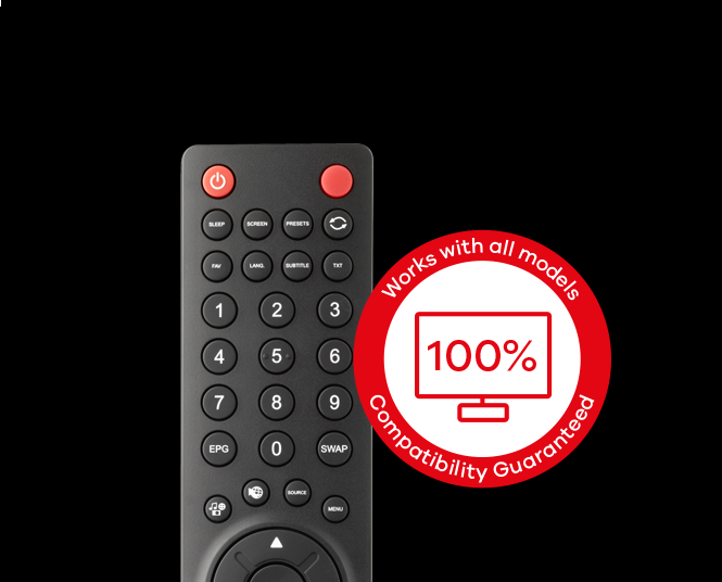 URC1921 Sharp TV Replacement Remote